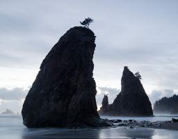 Strand Küste Felsen Seastack