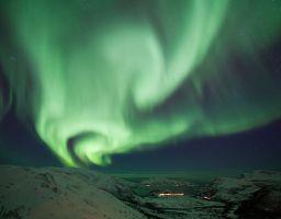 Polarlicht Nordlicht Himmel Lyfjord