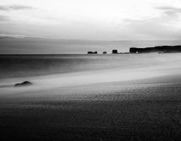 Wasser Meer Strand Wolken Felsentor