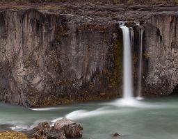 Wasserfall Gischt Fels Fluss Berg