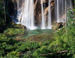 See Wasserfall Wald Land der fallenden Seen
