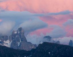 Berg Grat Sonnenuntergang