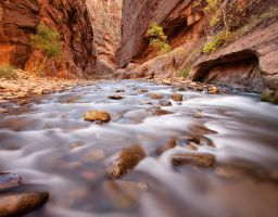 Fluss Schlucht Canyon Sandstein Fels
