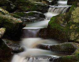 Wasserfall Kaskade Bach Fluss