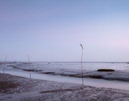 Leuchtturm Wahrzeichen Wattenmeer Nordsee Priel Fahrrinne