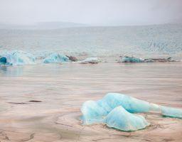 Gletscher Eis Lagune