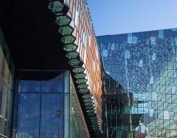 Reykjavík Architektur Gebäude Glas