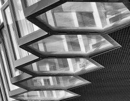 Detail Architektur Glas