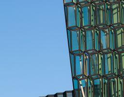 Architektur Fassade Glas