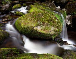 Steinklamm Bach Fluss Bayrischer Wald