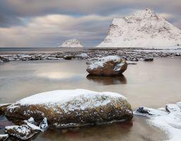 Steine Meer Winter