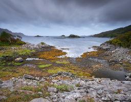 Bucht auf der Insel Skye