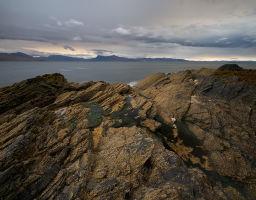 Küstenabschnitt auf der Insel Skye